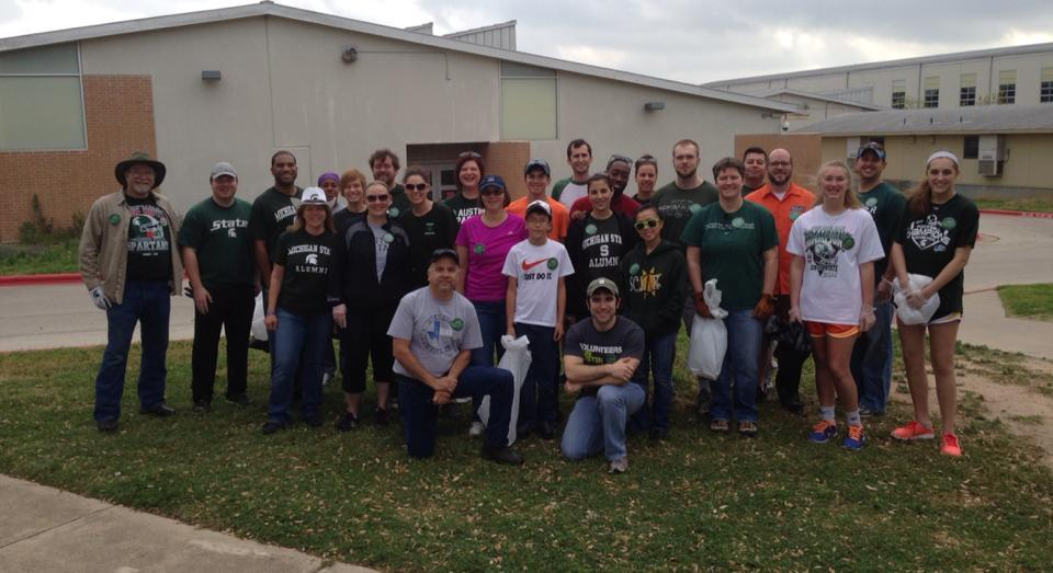 2014 Spartans Will.Power Day of Service